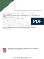 Intolerance, religious violence and political legitimacy.pdf