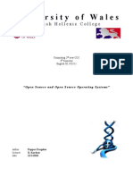 Open Source n Operating Systems