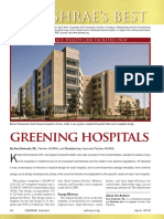 2010_ASHRAE Journal, Greening Hospitals, Kaiser Permanente_Article