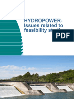 HYDROPOWER-Issues Related to Feasibility Studies
