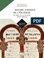 Soazick Kerneis (dir.) - Une histoire juridique de l'Occident (III-IXe siècle)-PUF (2018).pdf