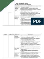 Competencias y Capacidades-fascículo Ps