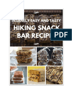 Hiking Snack Cook Book by Trail Maiden