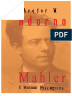 Edoc.site Theodor Adorno Mahler