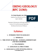 Chapter 1 - Introduction to Geology (22.9.18)