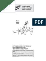 Milwak Hckzall Manual