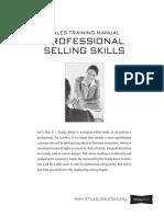 08-TrainingManual-ProfessionalSellingSkills