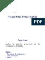 ACTUACIONES PREPARATORIAS