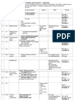 Family 4- Schedule