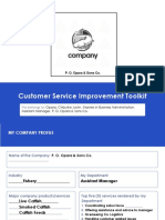 Customer Service Improvement Toolkit