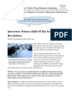 homework 3 19    interview  prison child of the iranian revolution