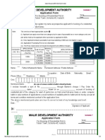 Taiser Town Application Form