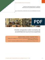 Estudio Comparativo Normativa Accesibilidad Provincias Españolas