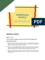 Ficha guia Portage Desarrollo motriz