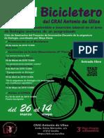En el Bicicletero del CRAI... Emprendimiento sostenible e inserción laboral en el área de Biología