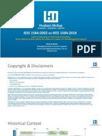IEEE 1584 edition 2002 vs 2018