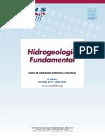"9º Curso a distancia ""Hidrogeología fundamental"" (2019 – 2020)"
