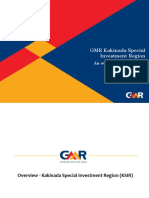 GMR Kakinada Special Investment Region Overview Presentation