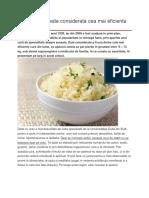 Dieta cu orez este considerata cea mai eficienta din lume.docx