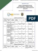 Agenda - Manejo y Procesamiento de Leche - 2018 II Periodo 16-04 (Peraca 474