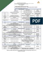 10. Agenda Semanal Marzo 18 Al 22 de 2019