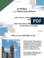 Agile government in Canada