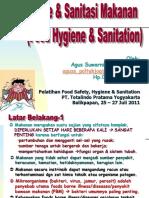 Hygiene and Sanitasi Makanan