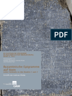 Andreas Rhoby - Byzantinische Epigramme auf Stein - Band 3.1 {Wien 2014}.pdf