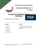 It 11 Plano de Intervencao de Incendio