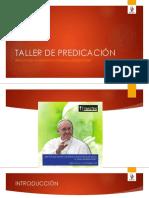 TALLER DE PREDICACIÓN. 2019 rccpptx