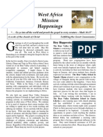 West Africa Mission Happenings - Vol 1, 2017