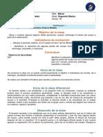 PLANIFIC MASTER CLASS 2° BÁSICO MARZO CIENCIAS