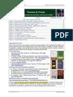 100Bs Panorama de Teología Cuestionario