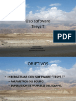 Uso Software TESYS T
