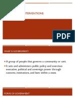 Democratic Interventions
