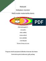 makalah kebijakan moneter.docx