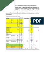 Determinacion Porcentual de Contenidos Metalicos Valiosos y Contaminantes