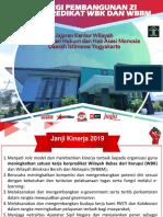 Materi Wilayah Bebas dari Korupsi Kanwil Kemenkumham D.I. Yogyakarta