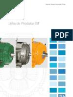WEG Motores Linha de Produtos Baixa Tensao 263 Catalogo Portugues Br