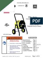 Calentador Fostoria FES 1024 1CA