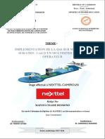 Implémentation IP MPLS cas de Nexttel Yaoundé