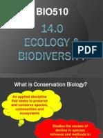 14-Ecology & Biodiversity