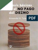 20 tesis básicas sobre el diezmo_Armando H. Toledo, 2018