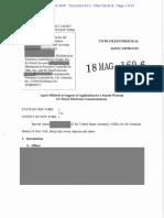 Michael Cohen Search Warrant 3