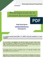 Reconfiguracion de La Revision Procesal Penal. Angel Zerpa