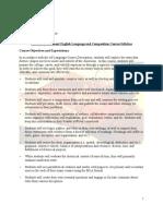 AP English Language Syllabus-Student Copy