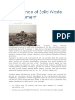 Significance of Solid Waste Management.docx