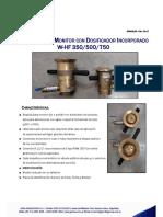 GPM Boquilla Monitor Agua Espuma W-HF 350-500-750 Rev 00-17 DEF
