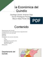Geología Económica Del Quindio