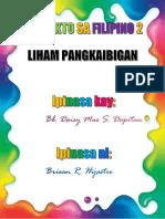 PROYEKTO SA FILIPINO 2.docx